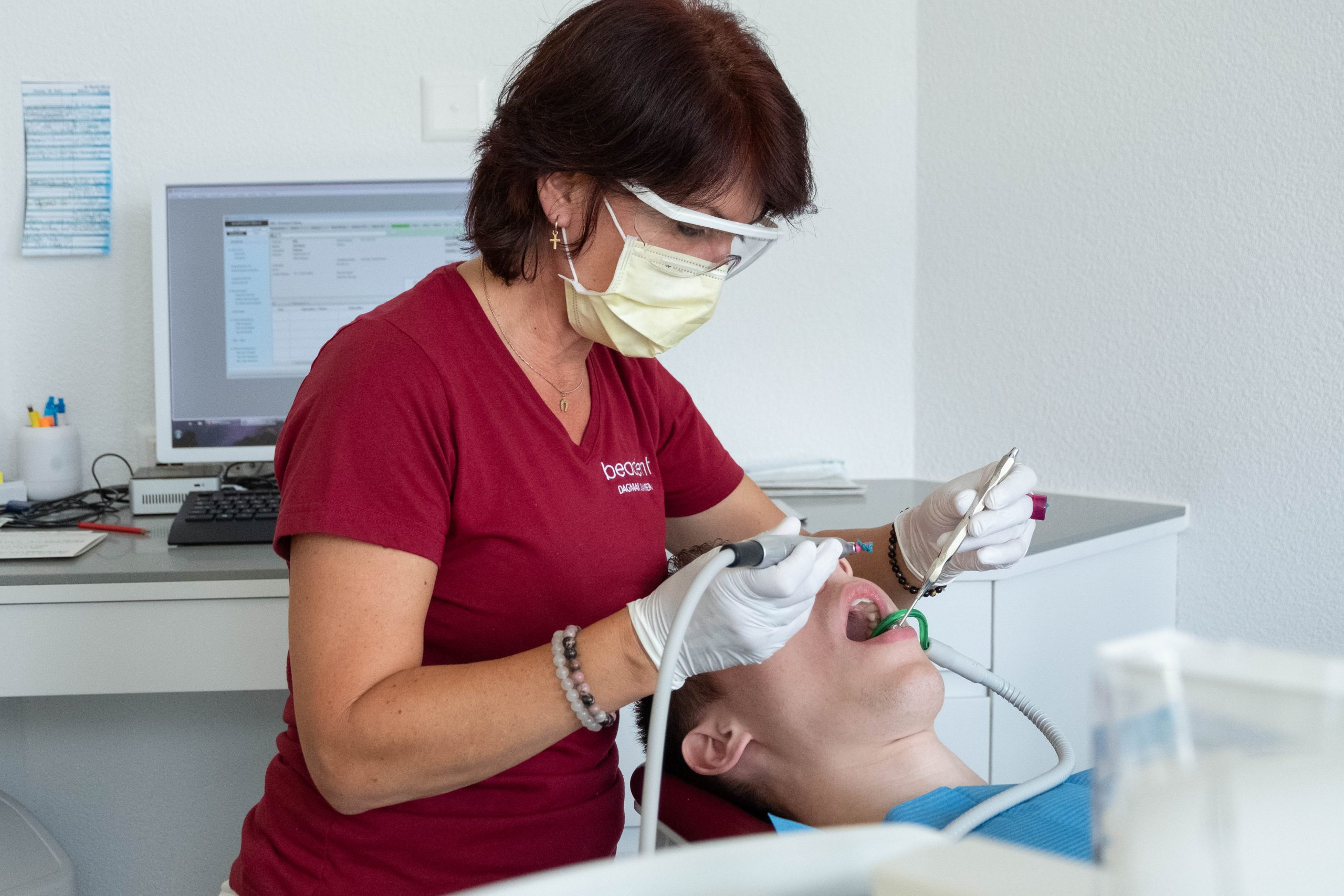 Dentalhygiene Zahnarztpraxis