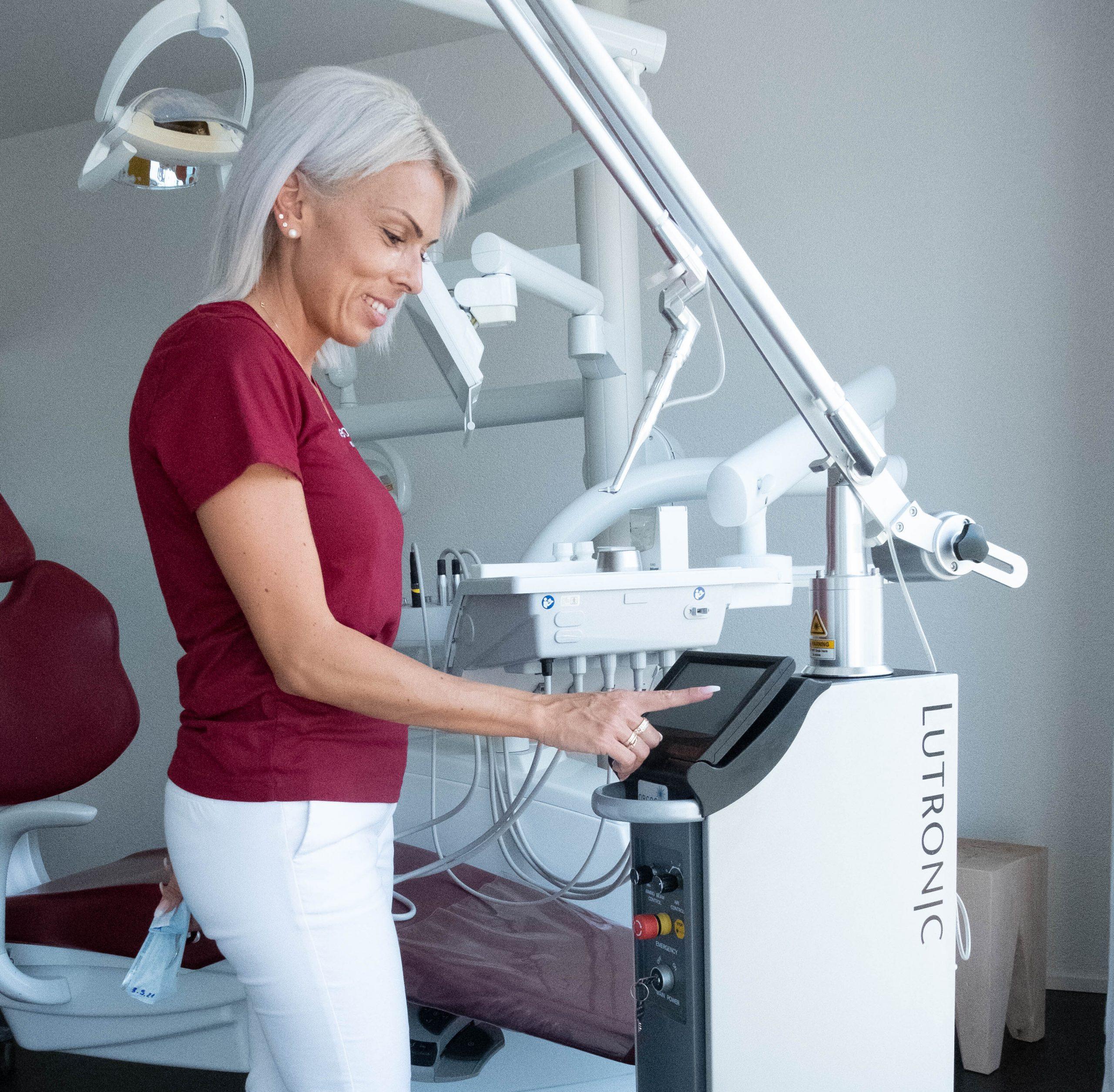 Laser Zahnarztpraxis