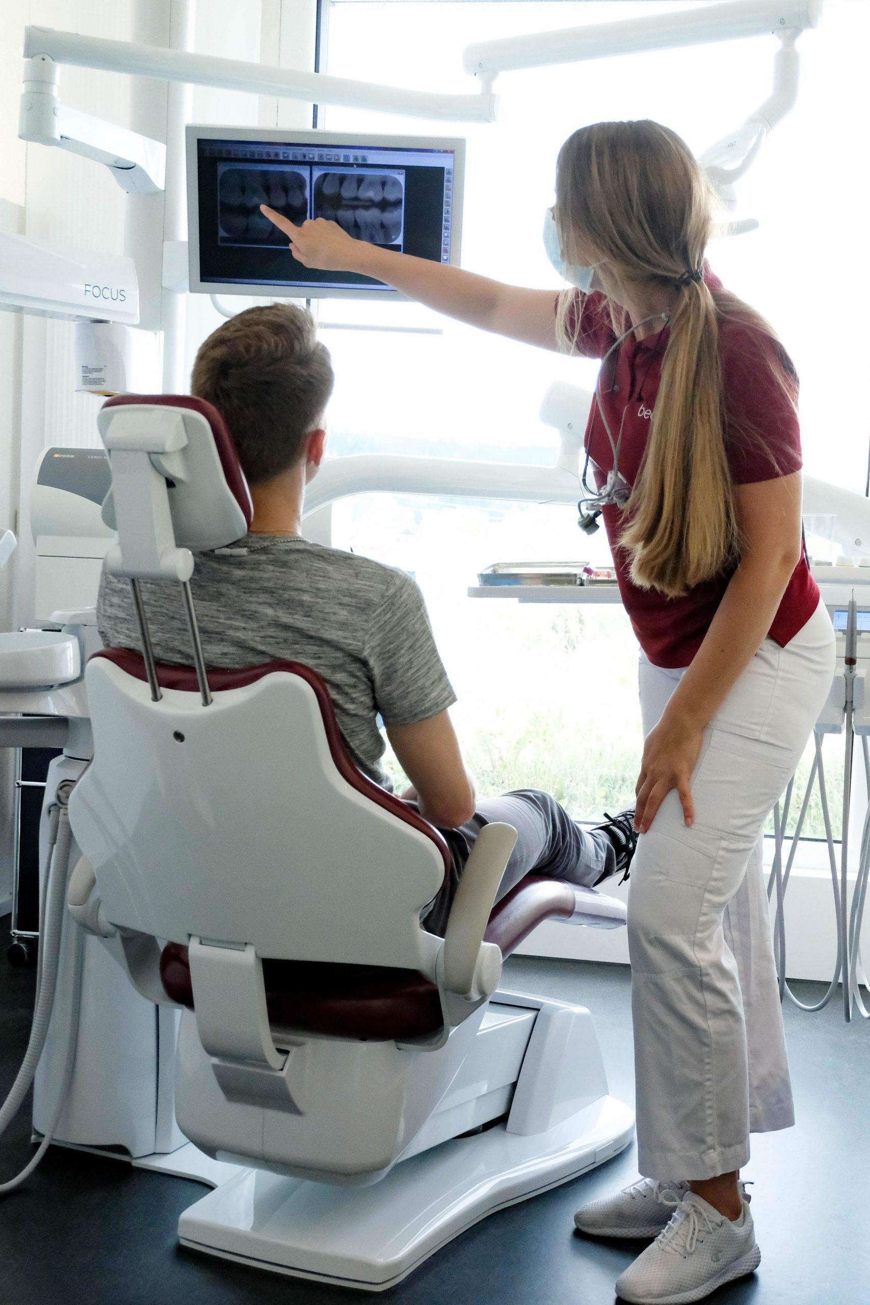 Röntgen Zahnarztpraxis